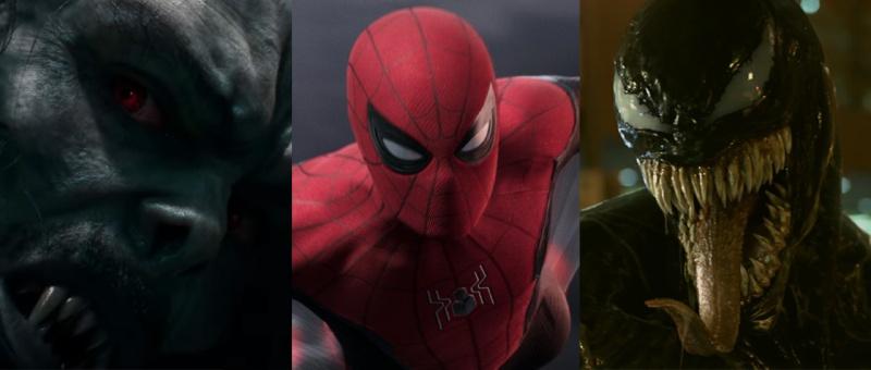 Morbius, Spiderman : Far From Home, Venom