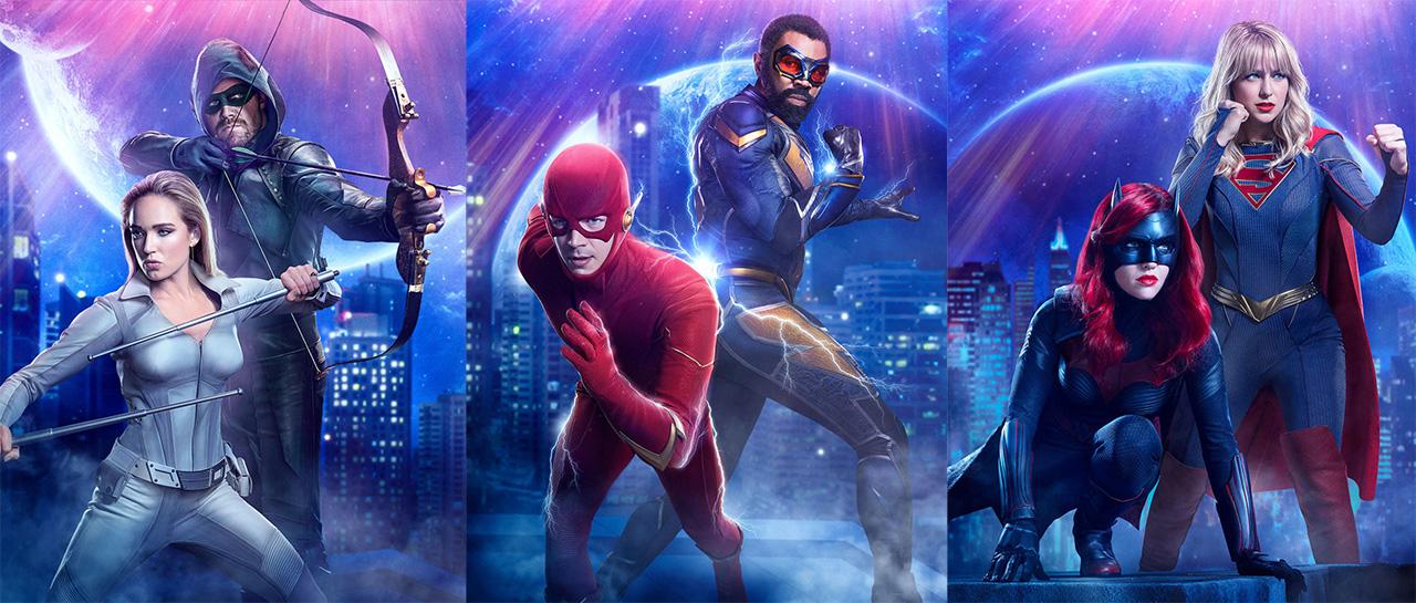 Arrow, Legends of Tomorrow, The Flash, Black Lightning, Batwoman, Supergirl (The CW)