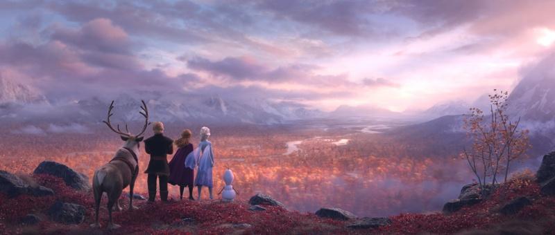 Frozen II / La Reine des Neiges 2 (2019, Walt Disney Animation Studios)