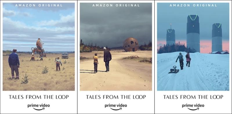Les travaux conceptuels de Tales from the Loop ont servi de base pour l'élaboration de la future série sur Amazon Prime Video
