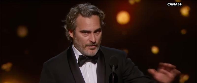 Joaquin Phoenix - Meilleur acteur principal - Oscars 2020