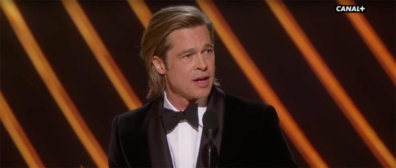 Brad Pitt - Meilleur acteur dans un rôle secondaire - Oscars 2020