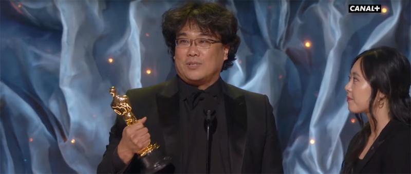 Parasite - Meilleur film en langue étrangère - Oscars 2020