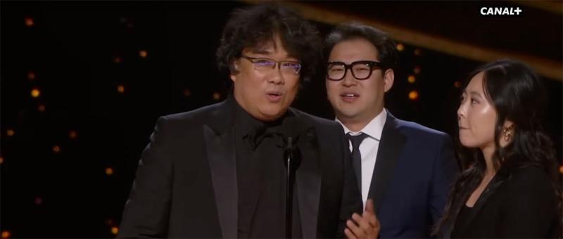 Parasite - Meilleur scénario original - Oscars 2020