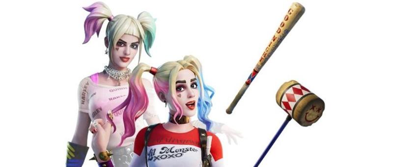 Harley Quinn - Fortnite skins (Epic Games)