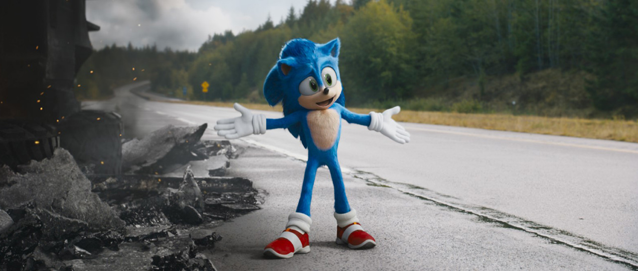 Sonic the Hedgehog / Sonic Le film (Jeff Fowler, 2020, Paramount Pictures)