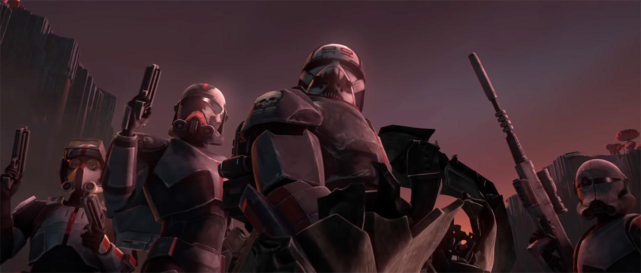 Star Wars : Clone Wars, Saison 7 (Dave Filoni, 2020, Lucasfilm Animation)