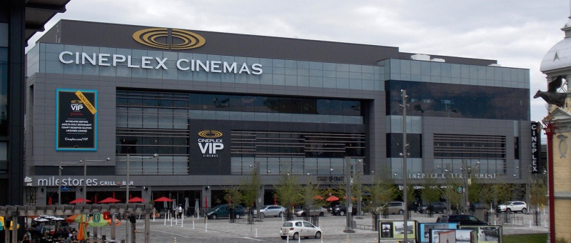 Cineplex, 1er propriétaire des salles de cinéma du Canada