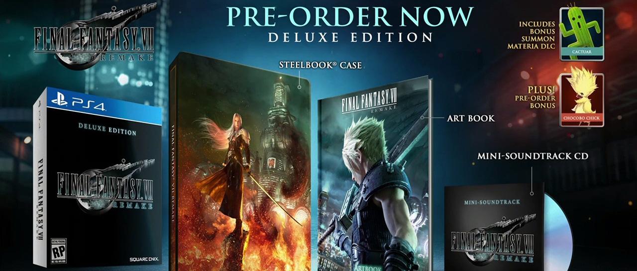 Final Fantasy VII Remake, Deluxe Edition (Square Enix, 2020, Square Enix)