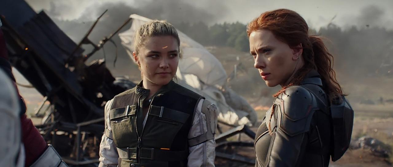 Florence Pugh, Scarlett Johansson - Black Widow (Cate Shortland, 2020, Marvel Studios)