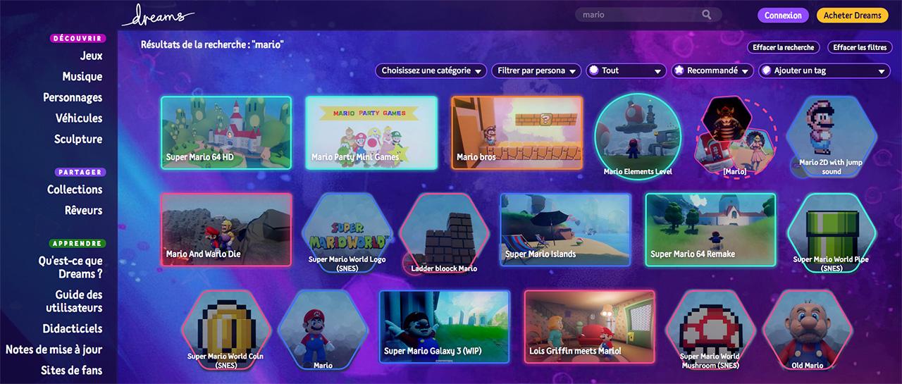 Dreams (Media Molecule, 2020, Sony Interactive Entertainment)