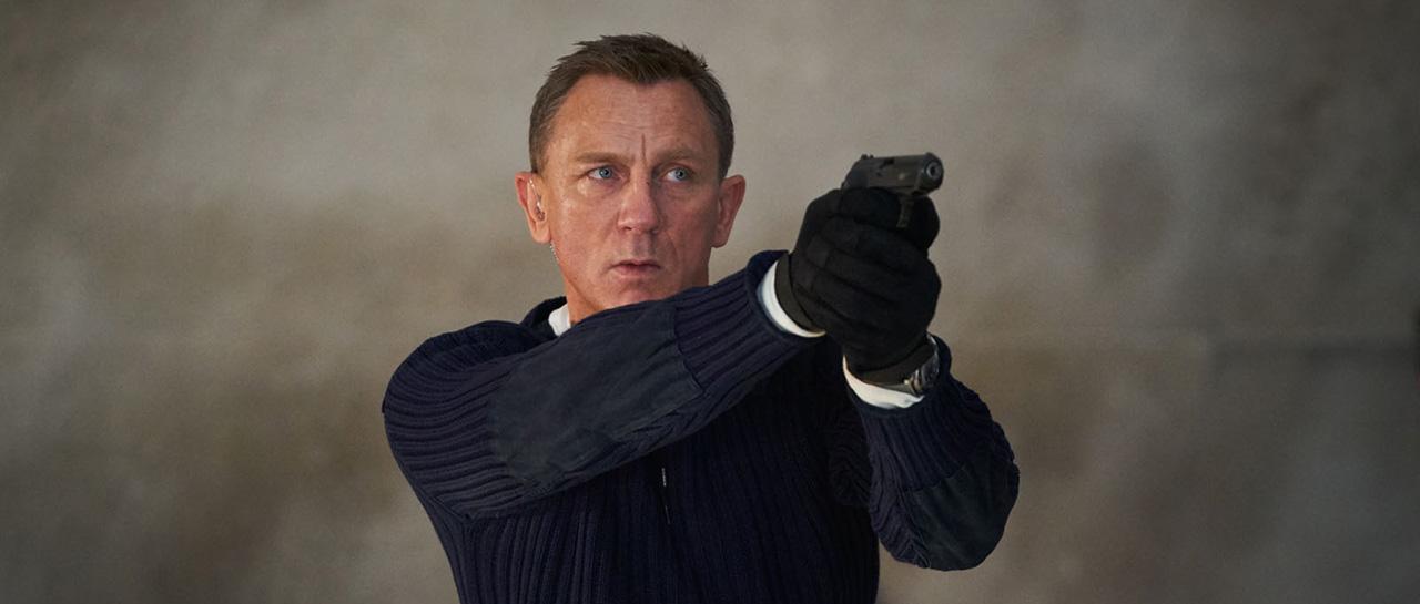 Daniel Craig - No Time to Die / Mourir peut attendre (Cary Joji Fukunaga, 2020, Metro-Goldwyn-Mayer)