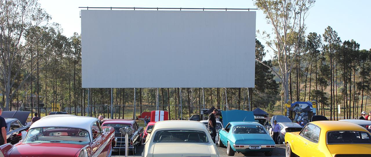 "Cinéma en plein air ""Drive-in"", Yatala, 2013"