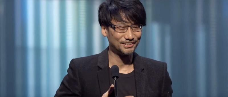 Hideo Kojima lors des Game Awards de 2016