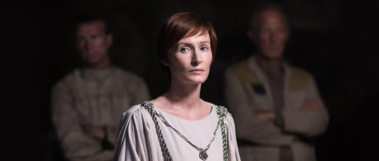 Genevieve O'Reilly - Rogue One : A Star Wars Story (Gareth Edwards, 2016, Lucasfilm)