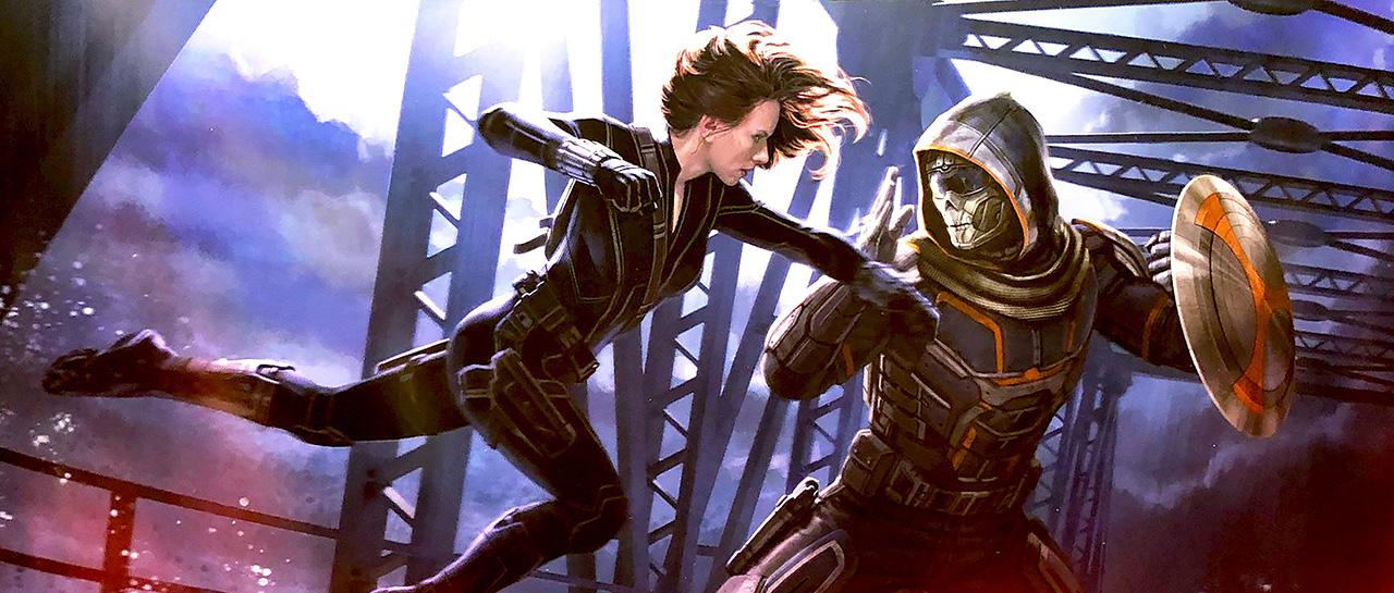 Black Widow (Concept Art, Andy Park)