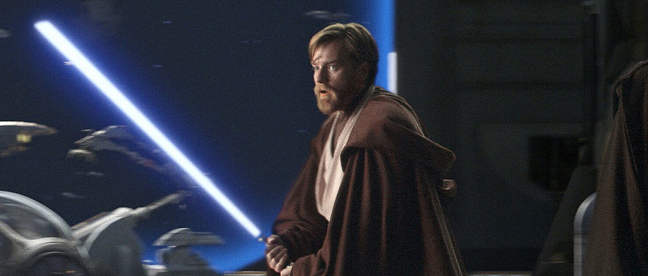 Ewan McGregor - Star Wars : Episode III - Revenge of the Sith / la Revanche des Sith (George Lucas, 2005, Lucasfilm)