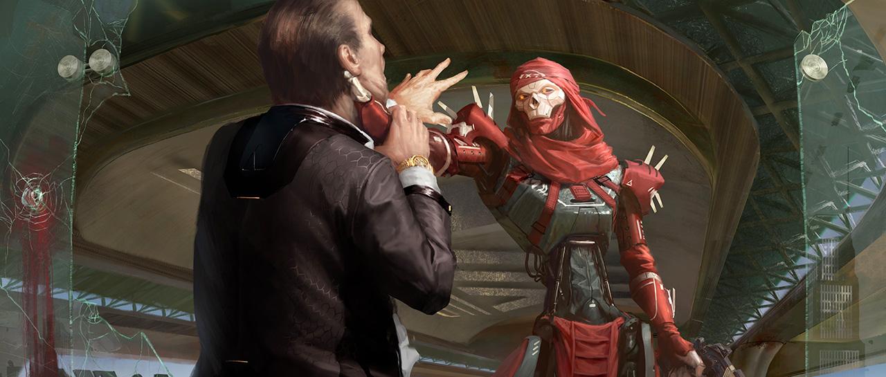 Apex Legends - Revenant Concept Art - Respawn Entertainment - Electronic Arts