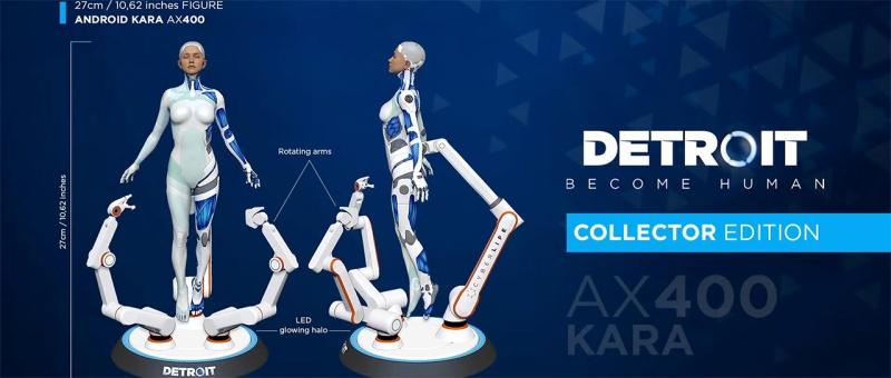 Detroit : Become Human - PC Collector Kara AX400, 27cm