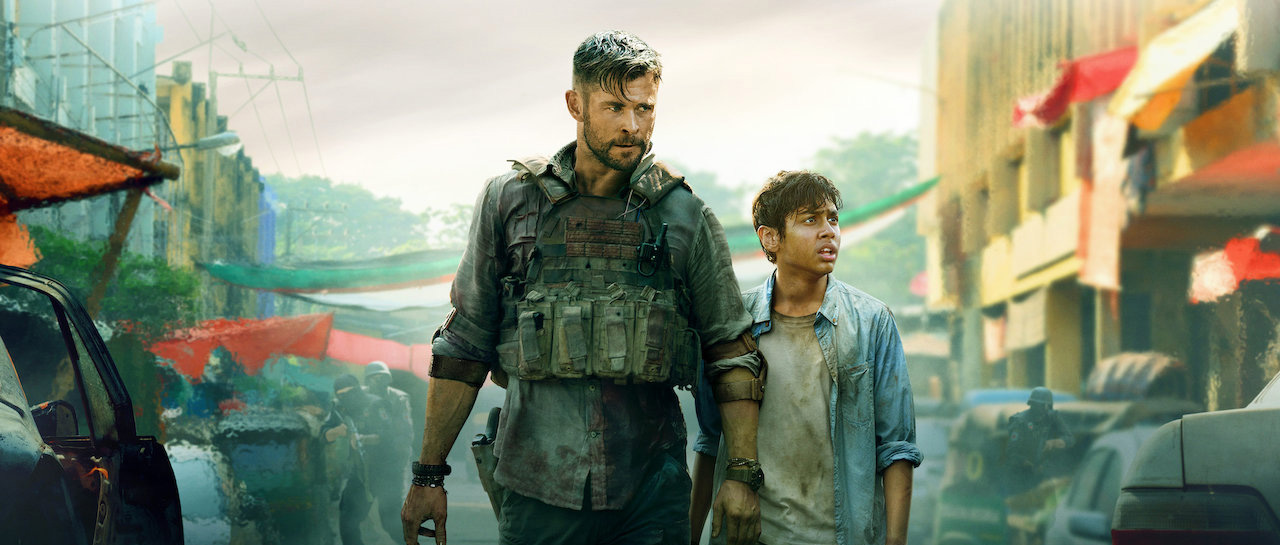 Extraction (Sam Hargrave, 2020) - Chris Hemsworth - Netflix