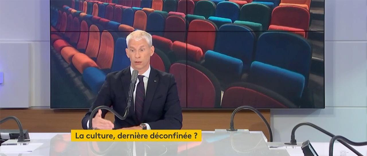Franck Riester - Ministre de la Culture, France