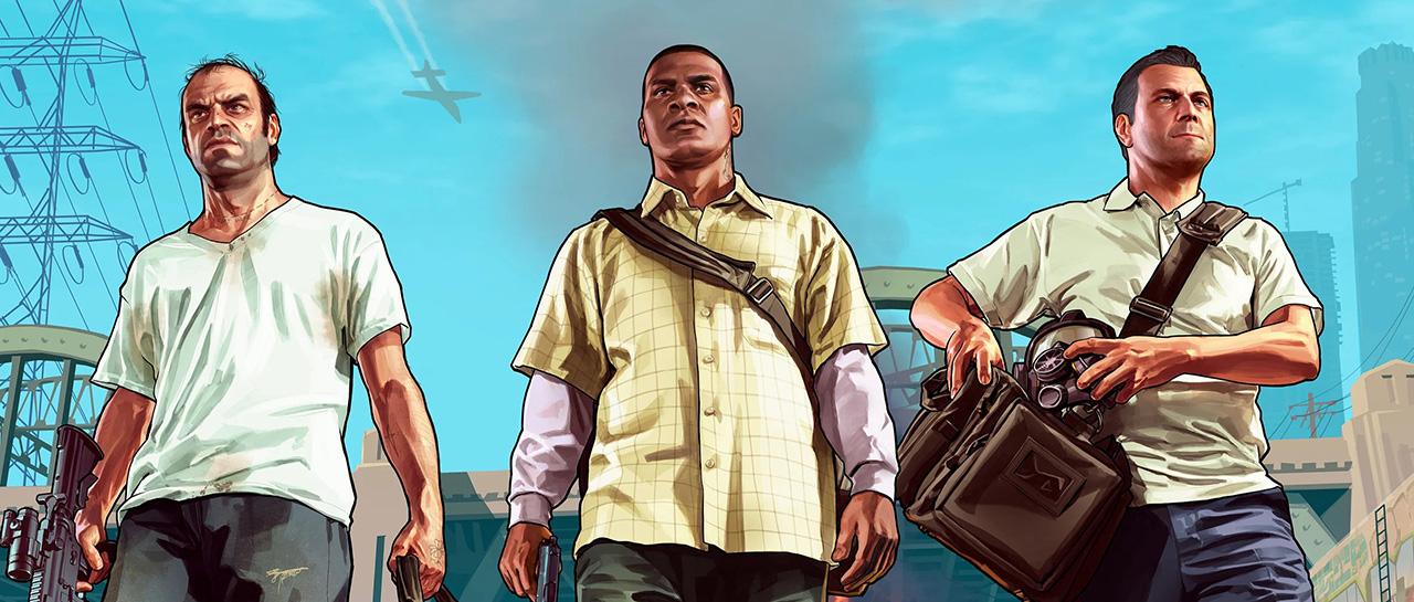 Grand Theft Auto 5 - GTA V - Rockstar Games