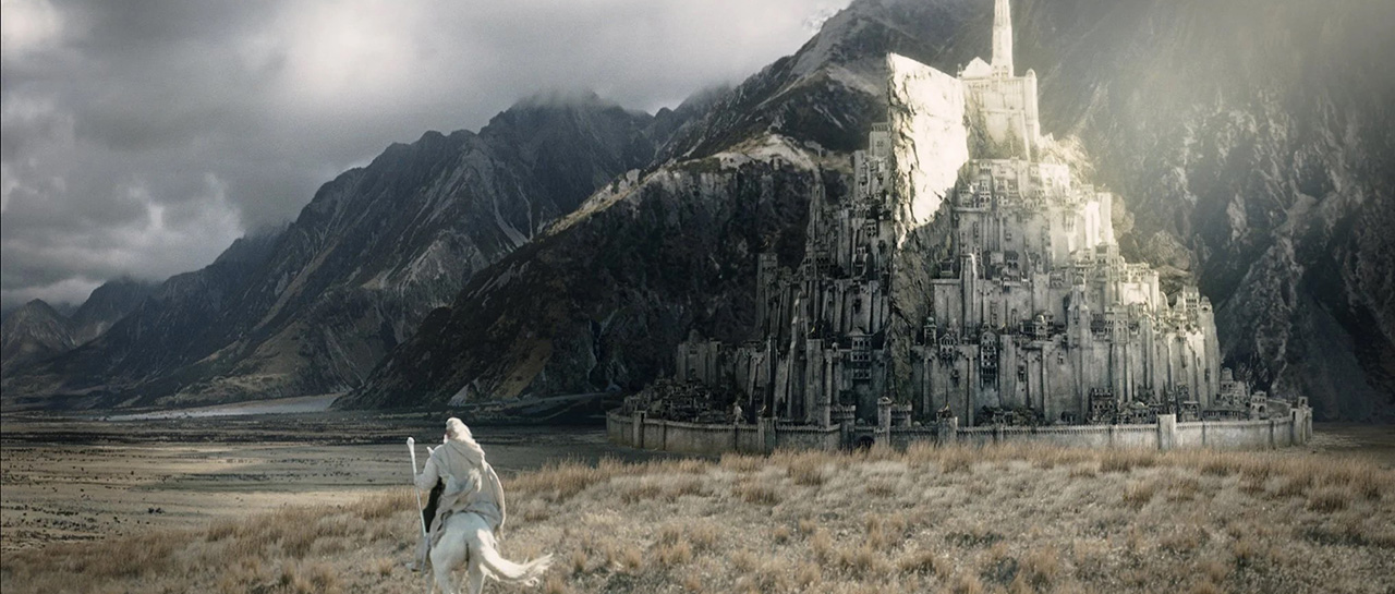 Minas Tirith, The Lord of the Rings (Peter Jackson, New Line Cinema, WingNut Films)