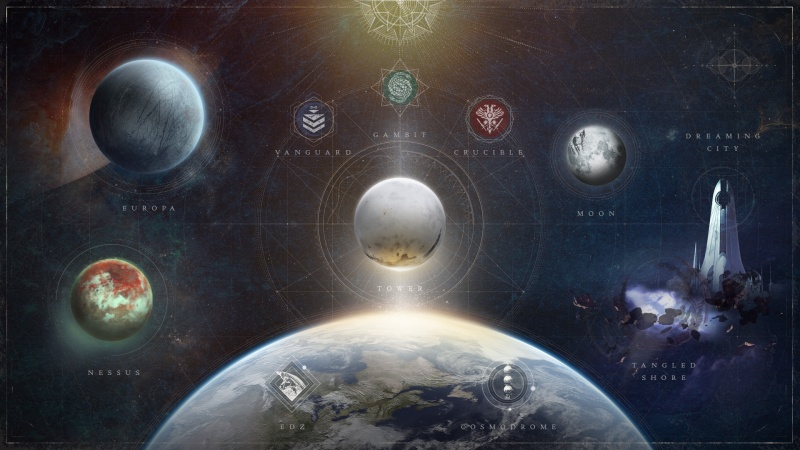 Destiny 2 - Bungie Stream - Beyond Light - Expansion Reveal