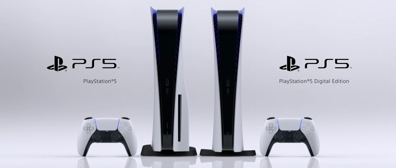 Playstation 5 - Standard & Digital Versions - Sony Interactive Entertainment