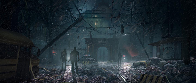 Resident Evil 2 - Concept Art - Capcom