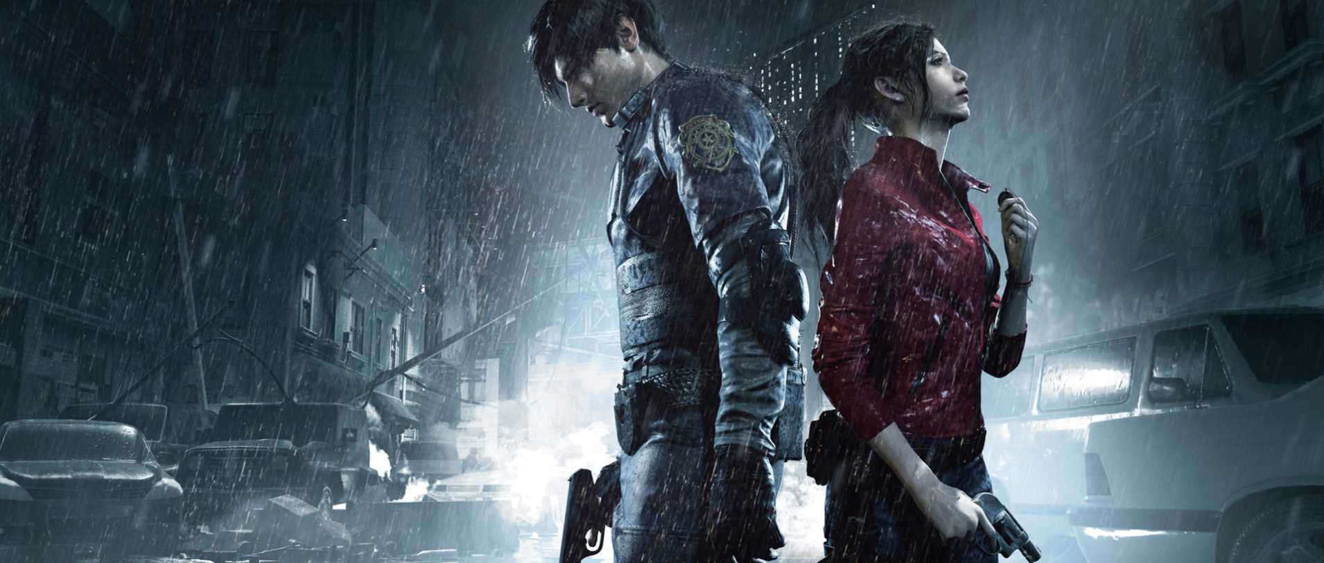 Resident Evil 2 Remake - Poster - Leon S. Kennedy - Claire Redfield