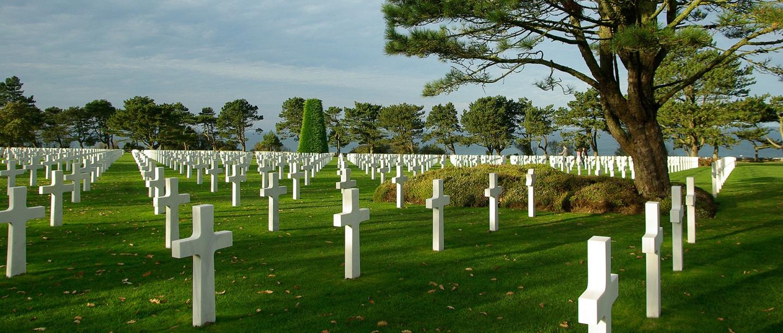 Cimetière Normandie - Normandy Cemetery