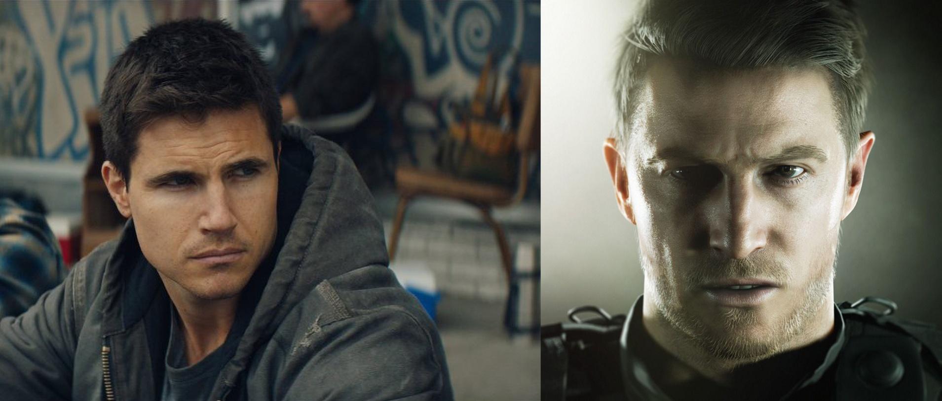Resident Evil - Chris Redfield - Robbie Amell