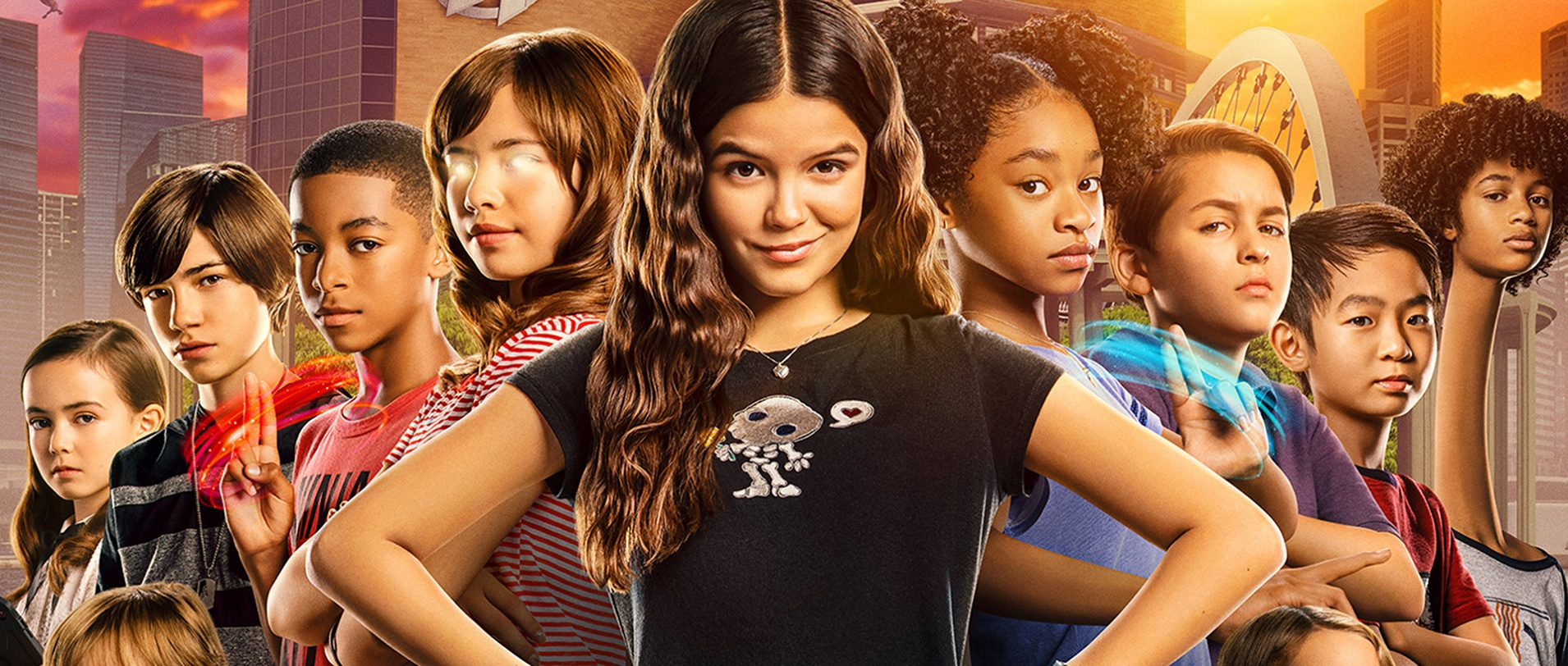 We Can Be Heroes - Poster - Robert Rodriguez - Netflix